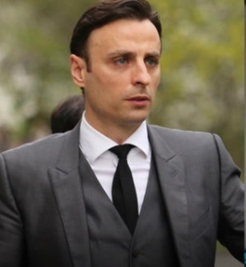 """""""Berbatov"""", sitting as head of the Bulgarian football after losing the vote"""
